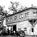 Quebec Garage 1940s by Will Borden