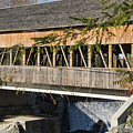 Quechee Covered Bridge by Bob Phillips