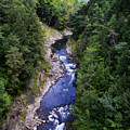 Quechee Gorge In Vermont by Catherine Sherman