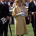 Queen Elizabeth At The Races by Travel Pics