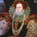 Queen Elizabeth I, C1588 by Granger