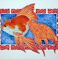 Queen Goldfish by Sergei Anikin