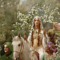 Queen Guinevere by John Collier