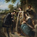 Queen Isabella And Columbus Henry Nelson Oneil by Eloisa Mannion