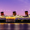Queen Mary At Dusk_pano by Enrique Guizar