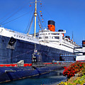 Queen Mary Ship by Mariola Bitner