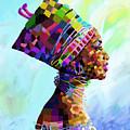 Queen Nefertiti by Anthony Mwangi