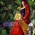 Queen Of Pentacles by Tammy Wetzel