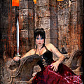 queen of Swords by Tammy Wetzel