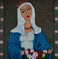 Queen St Isabel - The Miracle Of The Roses by Madalena Lobao-Tello
