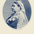 Queen Victoria Engraving - Her Majesty The Queen by War Is Hell Store