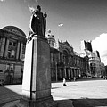 queen victoria statue and Birmingham council house victoria square UK by Joe Fox