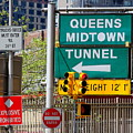 Queens Midtown Tunnel by Ed Weidman