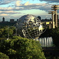 Queens New York City - Unisphere by Frank Romeo