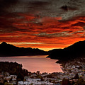 Queenstown New Zealand Sunset by Mark Duffy