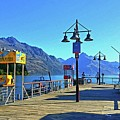 Queenstown's Majestic Mountains by Kathy Kelly
