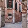 Quiet Corner In Venice by Philip Openshaw