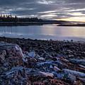 Quiet Dawn, Southwest Harbor, Maine #40131-40132 by John Bald