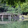Quiet Day In Tokyo Park by Carol Groenen