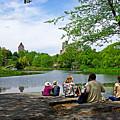 Quiet Moment In Central Park by Zal Latzkovich