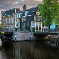 Quiet Morning In Amsterdam by James Udall