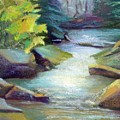 Quiet Stream by Melanie Miller Longshore