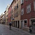 Quiet Street In Rovinj - Croatia by Stuart Litoff
