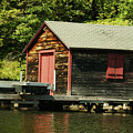 Quiet Sunapee Fishing Cabin by Judy Carr