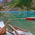 Moraine Lake I, Alberta by Heather Vopni