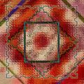 Quilt Block Transformed by Karen Beasley