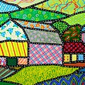 Quilted Bath County Barn by Jim Harris
