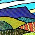 Quilted Mountain Peak by Jim Harris