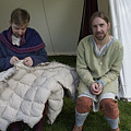 Quilters At Work by Peter Jenkins
