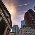 Quincy Market Sky by Joann Vitali