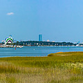 Quincy Salt Marsh Panorama by Brian MacLean