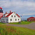 Quoddy Head Lighthouse by Glenn Gordon