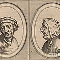 """""""goelijeke Floor"""" And """"kinne Snavels"""" by Johannes And Lucas Van Doetechum After Pieter Bruegel The Elder"""