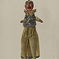 """punch"" Clown Puppet by Florian Rokita"