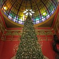 Qvb Christmas Tree by Lawrence S Richardson Jr