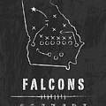Atlanta Falcons Art - Nfl Football Wall Print by Damon Gray