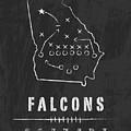Atlanta Falcons Art - Nfl Football Wall Print by Damon Gray