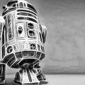 R2 Feeling Lonely by Scott Campbell
