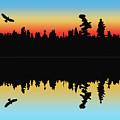 Rabbit Blanket Lake by Paula Trus