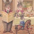 Rabbit Marcus The Great 09 by Kestutis Kasparavicius