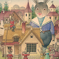 Rabbit Marcus The Great 16 by Kestutis Kasparavicius