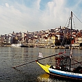 Rabelo Boats On River Douro In Porto 03 by Dora Hathazi Mendes