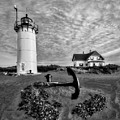 Race Point Lighthouse Bw by Susan Candelario