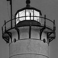 Race Point Lighthouse New England Bw by Susan Candelario