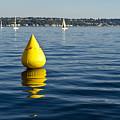 Race Pylon Bouy by Tom Dowd