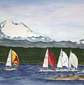 Race Week On Whidbey Island by Mary Gaines